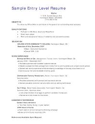 Resume Waitress Resume Samples