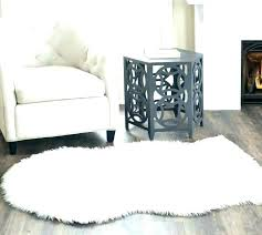 white fur area rug fur white rug large white fur area rug gray faux fur rug