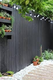 very garden fence ideas