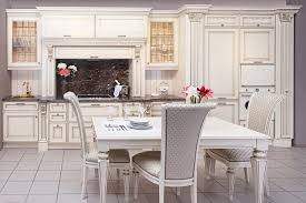 Classic Kitchen Interesting Classic Kitchen Design With White Wooden Vanity