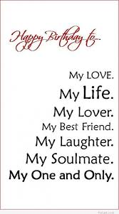 Birthday Quotes For Husband Simple Happy Birthday To My Soulmate Pictures Photos And Images For