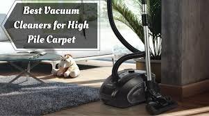 best vacuum clener for high pile carpet