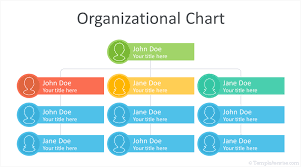 Organization Chart Xls Organizational Chart Template For Powerpoint Templateswise Com
