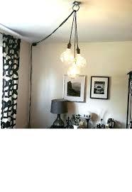 plug in wall chandelier plug in hanging light wall plug hanging lamps plug in pendant lights