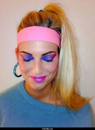 all about fashion 80s makeup looks 1