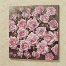 averie rose canvas wall art pink on pink rose canvas wall art with averie pink rose canvas wall art