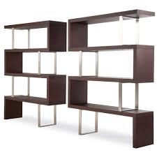 unique wooden black shelf design with awesome modern furniture bookshelf furniture design