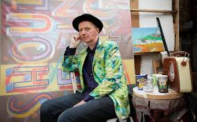 Bob and Roberta Smith: in the studio