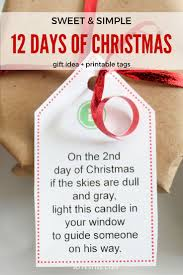 Twelve Days Of ChristmasGifts In 12 Days Of Christmas