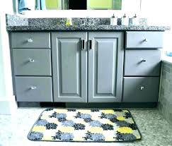 gray bath rug yellow and bathroom grey rugs yello