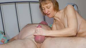 Slutty blonde German granny gets her pierced twat fucked and.