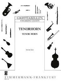 Tenor Horn Fingering Chart