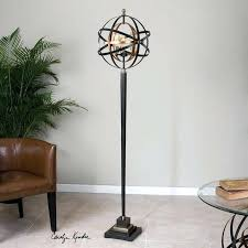 uttermost floor lamps sphere lamp discontinued inside decor 34