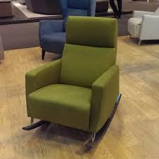 Rocking Couch Dakota Rocking Chair Fabric Sofa Chairs Julian Foye