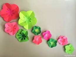 Easy Paper Flower Easy Diy Paper Flowers Tutorial Diy Inspired