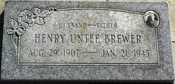Henry Untee Brewer (1907-1945) - Find A Grave Memorial