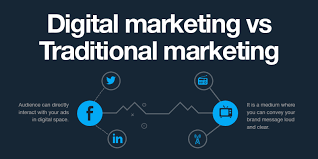 Digital Distribution Comparison Chart 2018 Digital Marketing Vs Traditional Marketing Which Produces