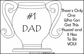 Small Picture Fathers Day Coloring Cards home decorating Pinterest
