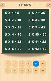 Multiplication table - Android Apps on Google Play