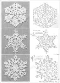 Crochet Snowflake Pattern Chart Crochet Snowflakes With Charts Please Repin Like Hear