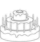 Disegni Di Buon Compleanno Da Colorare Pagine Da Colorare