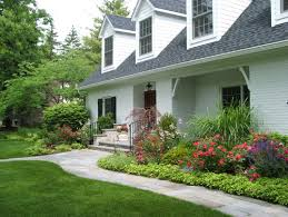Wonderful Front Of House Landscaping Landscape Arrangements For Your Houses  Front Gardening Flowers