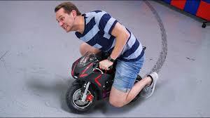 mini motorcycle dope or nope youtube