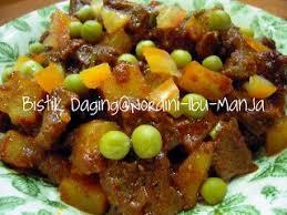 Resep semur ayam bahannya : Resepi Bistik Daging Sedap Bahanresepi Hestiro Com