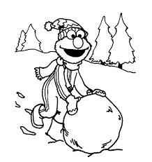 Small Picture Elmo Coloring Pages For Christmas Free Printable Christmas