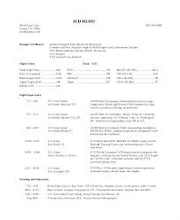 Sample Airline Pilot Resume – Resume Web