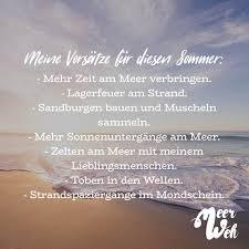 Meine Vorsätze Für Diesen Sommer Mehr Zeit Am Meer