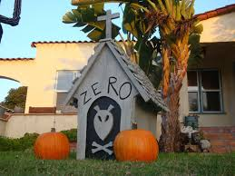 Jack Skellington Decorations Halloween Diy Zeros Doghouse Nightmare Before Christmas Youtube