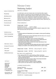 Marketing Analyst Resume Sample Best Of Sample Key Skills For Resume Sample Teaching Resume Template Writing