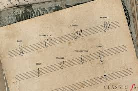 Treble Clef Music Store What Did The Great Composers Handwriting Look Like Classic Fm
