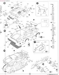 Countach 5000s model car assembly guide6