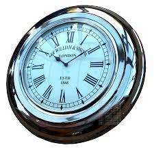 Small Picture Retro Wall Clock Wooden Wall Clock Soviet Vintage Clock Jantar