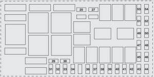 fiat grande punto (2006 – 2012) – fuse Fiat Punto Fuse Box Schematic Shock Box Schematic Diagram