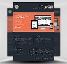 Dark Flyer Web Design Flyer Template Website Design Agency Flyer Template
