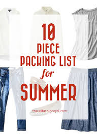 Packing List For Summer Vacation Travel Essentials Packing List Pack Like A Pro