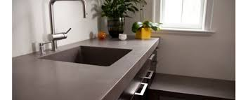 Work surface  polished concrete kitchen ...