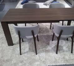 rectangular dining table smoke calligaris omnia xll extendable dining table smoke