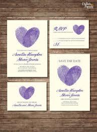 best 25 purple save the dates ideas on pinterest printable save Cadbury Purple Wedding Invitations Online wedding invitation printables, finger print heart, customized diy, thank you card, save Black and Purple Wedding Invitations