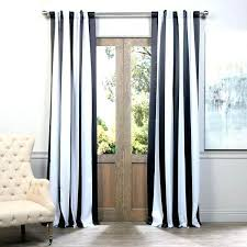 black and gold curtains with stripes exclusive fabrics black and white vertical striped blackout curtain panel
