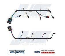 fuel injector wiring harness 6 4l powerstroke diesel oem genuine ford fuel injector wiring harness f250 f350