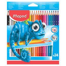 """Купить <b>Карандаши цветные MAPED</b> (Франция) """"Pulse'"""", 24 цвета ..."""