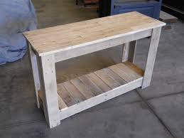 Hallway Pallet Table Desks & Tables More