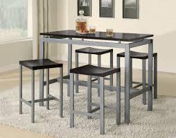 kitchen bar tables design. beautiful bar height table set estella cherry finish wood pub bistro dining kitchen tables design