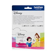 Scan N Cut Designs Brother Scanncut Disney Card No6 Snow White And Belle Paper Craft Collection X 30 Designs