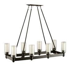 rectangular candle chandelier rectangular chandeliers rectangular