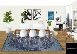 2d interior design.  Interior 2D Rendering Of Dining Room With 2d Interior Design